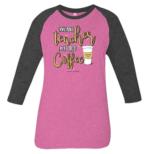 Small Instant Teacher Simply Faithful Tee by Simply Southern