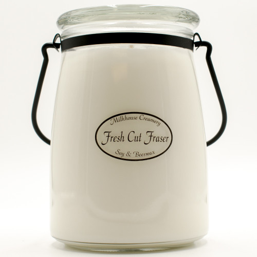 Fresh Cut Fraser 22 oz. Butter Jar by Milkhouse Candle Creamery