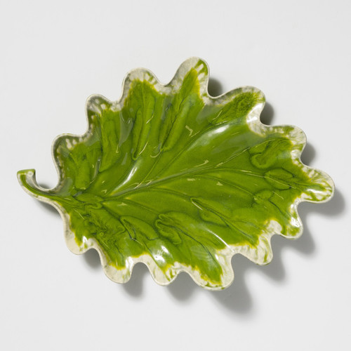 Vietri Reactive Leaves Plate - Special Order