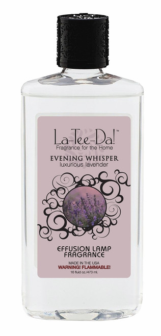 16 oz.  Evening Whisper La Tee Da Fragrance Oil