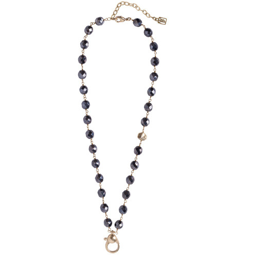 Hematite Ensemble Charmable Necklace by Waxing Poetic