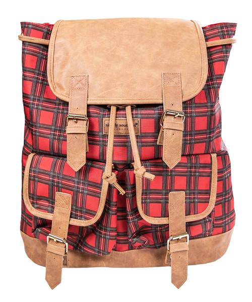 Tartan Bookbag by Simply Southern