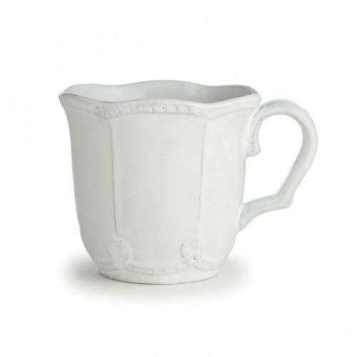 PRE-ORDER - Bella Bianca Beaded Mug - Arte Italica