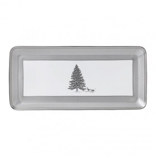 Winter White Sandwich Tray Rectangular by Wedgwood