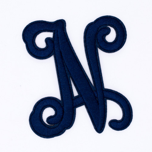 """Letter """"N""""  Navy Monogram by Simply Southern"""