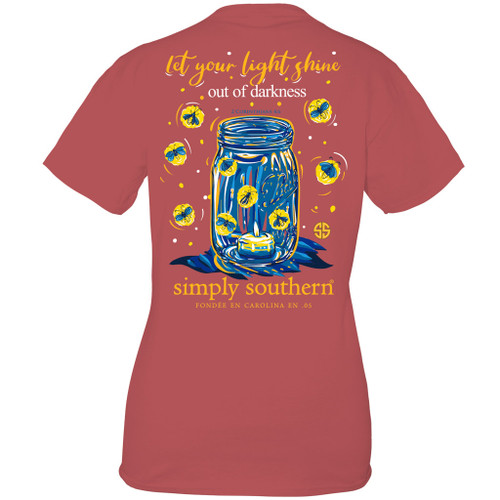 Small Shine Spice Short Sleeve Tee by Simply Southern