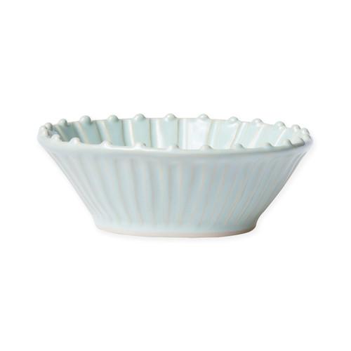 Vietri Incanto Stone Aqua Stripe Cereal Bowl - Special Order