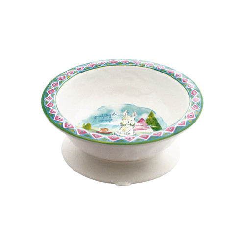 Enjoy the Journey Suction Bowl by Baby Cie