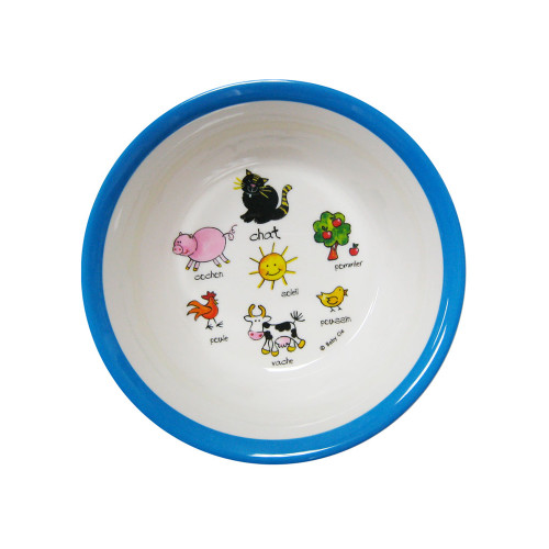 Farm Animals Suction Bowl by Baby Cie