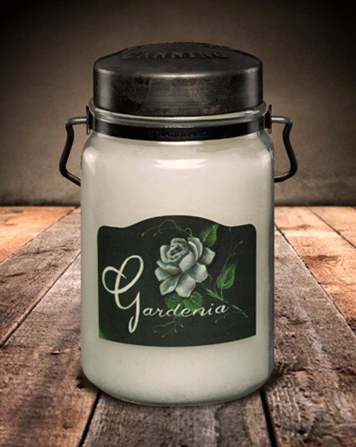 Gardenia 26 oz. McCall's Classic Jar Candle