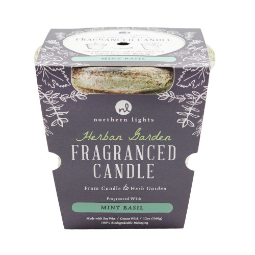 Mint Basil Herban Garden Candle by Northern Lights