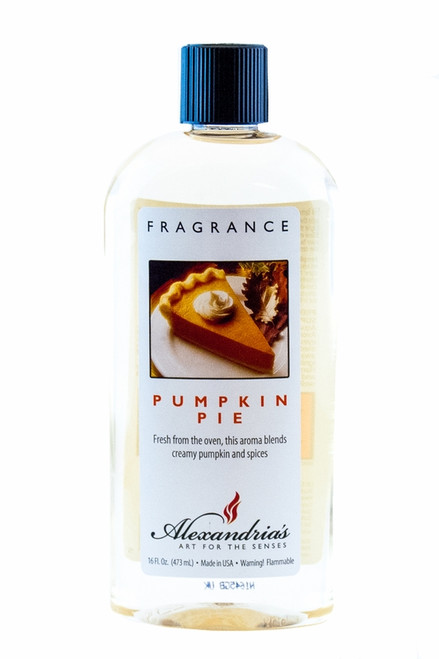 16 oz. Pumpkin Pie Alexandria's Fragrance Lamp Oil