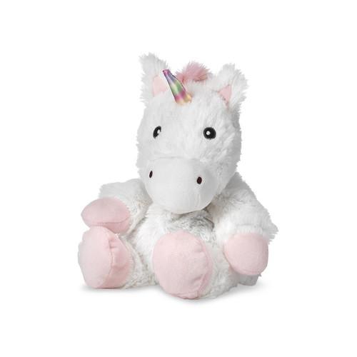 Warmies Heatable & Lavender Scented White Unicorn Stuffed Animal