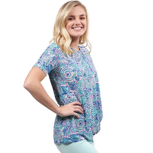 Medium Swirly Knot Top by Simply Southern