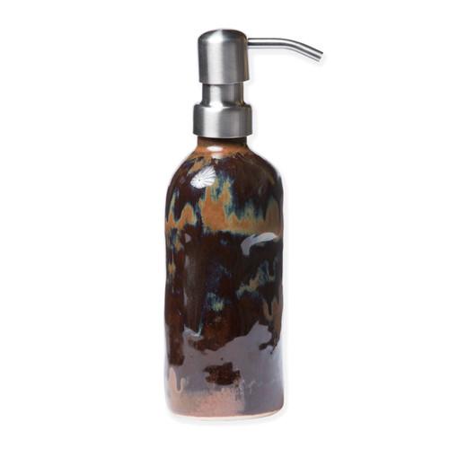 Vietri Bath Essentials Tortoise Soap Dispenser - Special Order
