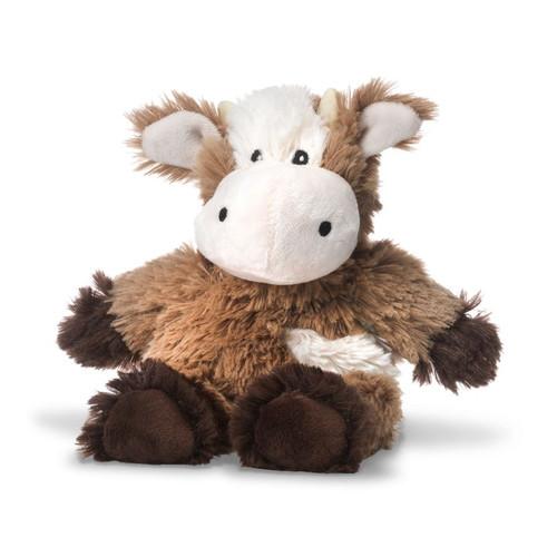 Warmies Junior Heatable & Lavender Scented Cow Stuffed Animal