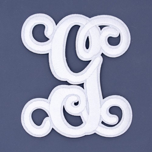 """Letter """"G""""  White Monogram by Simply Southern"""