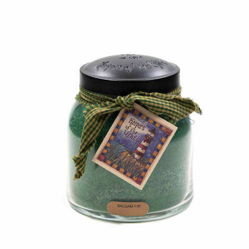 Balsam Fir 34 oz. Papa Jar Keeper's of the Light Candle by A Cheerful Giver