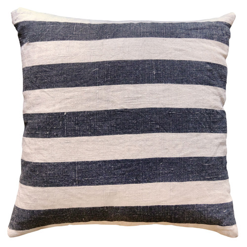 """24"""" X 24"""" Black Stripes Pillow by Sugarboo Designs - Special Order"""