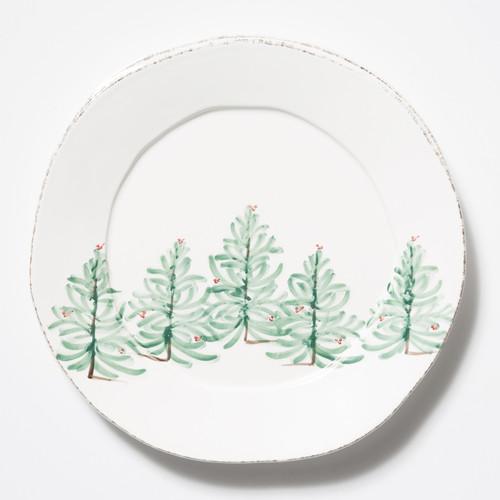 Vietri Lastra Holiday Round Platter - Special Order