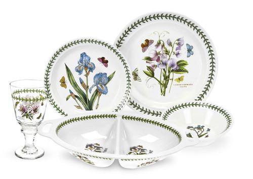 Botanic Garden 17-Piece Dinner Setting by Portmeirion - Special Order