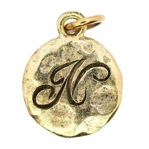 Monogram Collection Gold - N by Beaucoup Designs