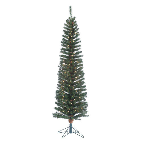Narrow 6.5 ft. Pencil Fir by Sterling Tree