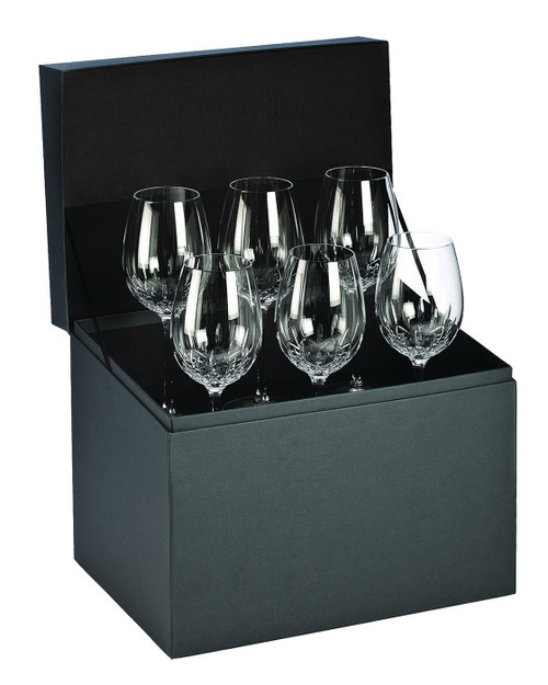 Lismore Essence Red Wine Goblet Set of 6 by Waterford