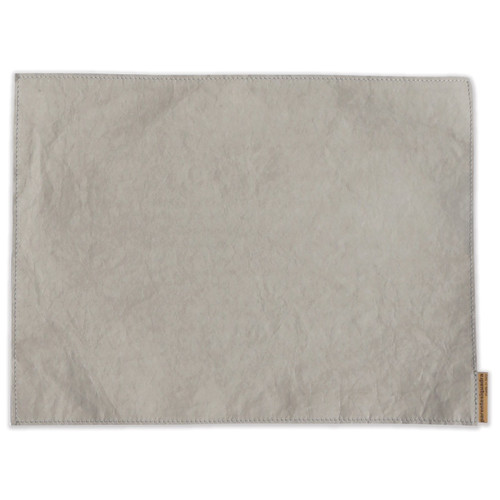Vietri Washable Paper Placemats Gray - Set of 4 - Special Order