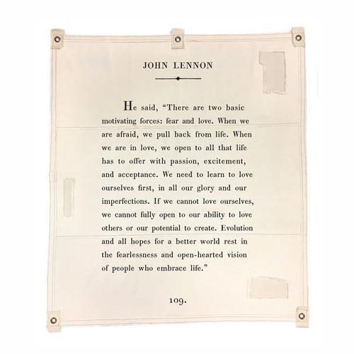 "46"" x 57"" John Lennon Tarp by Sugarboo Designs - Special Order"