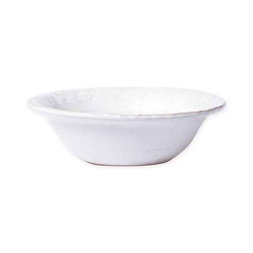 Vietri Bellezza Stone White Cereal Bowl