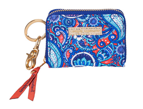Paisley Quilted Key ID By Simply Southern