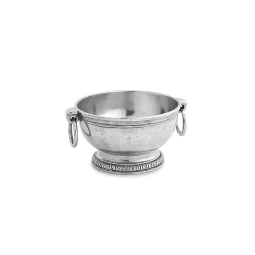 Peltro Small Bowl with Ring Handles - Arte Italica