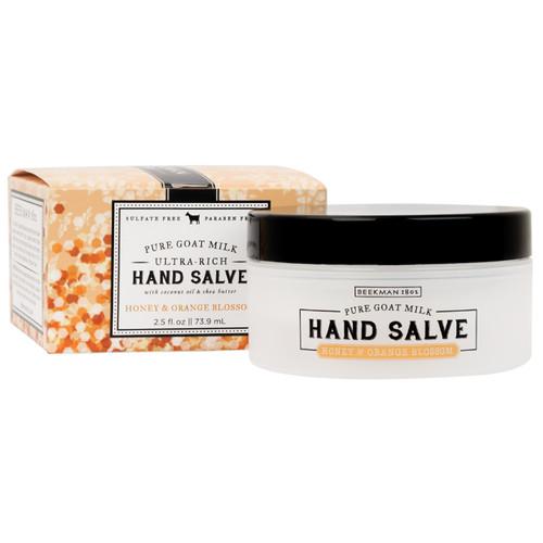 Honey & Orange Blossom 2.5 oz. Hand Salve by Beekman 1802