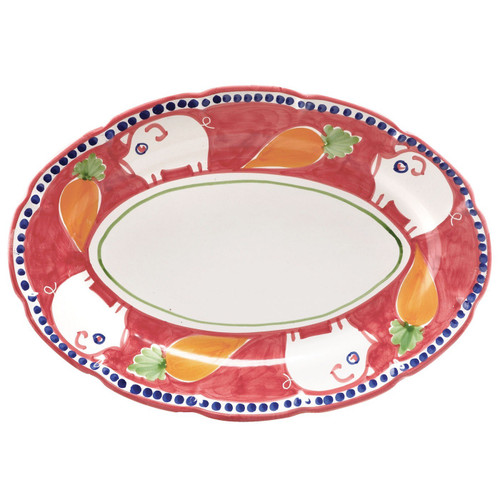 Vietri Porco Oval Platter - Special Order