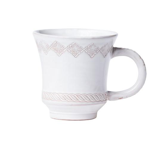 Vietri Bellezza Stone White Mug