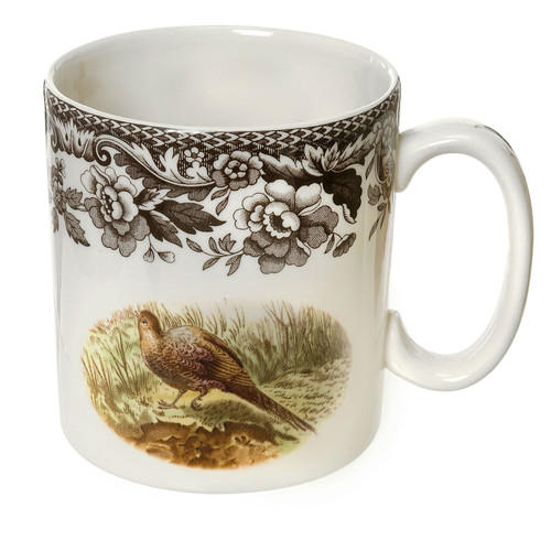 Woodland Pheasant/Red Grouse Mug by Spode