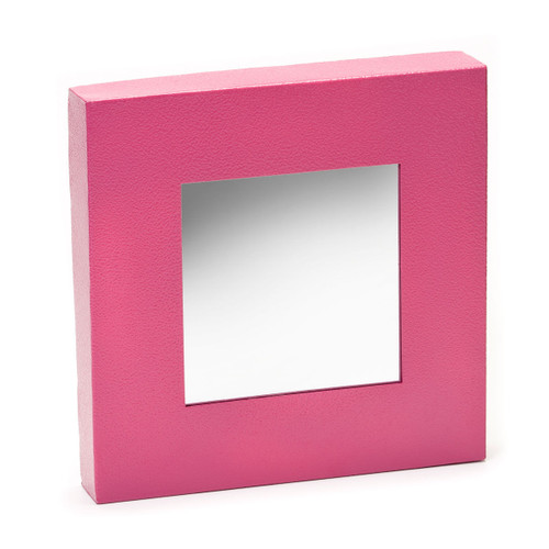 """Embellish Your Story Closeouts: Pink Magnetic Mirror - 10""""sq."""