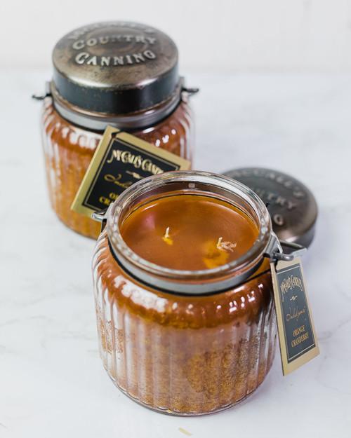 Orange Cranberry 18 oz. McCalls Indulgence Candle 2-Pack