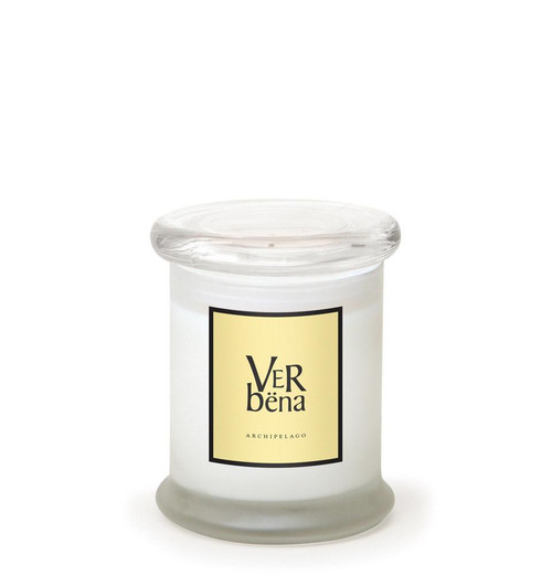 Verbena 8.6 oz. Frosted Jar Candle by Archipelago