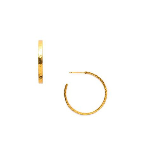 Julie Vos Crescent Extra Large Hoop Earrings