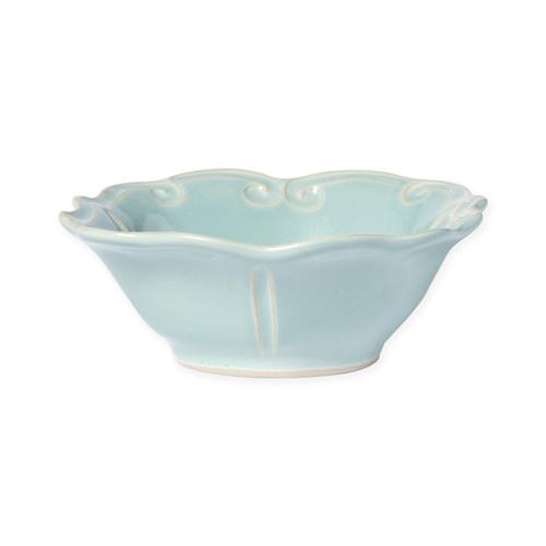 Vietri Incanto Stone Aqua Baroque Cereal Bowl - Special Order