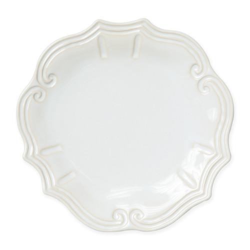 Vietri Incanto Stone Linen Baroque Dinner Plate
