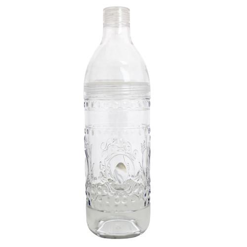 Jewel Glassware Clear Bottle by Le Cadeaux