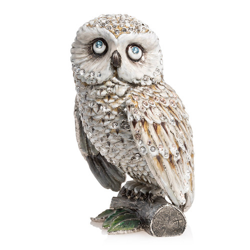 """Jay Strongwater Hildy Owl 5"""" Figurine - Special Order"""