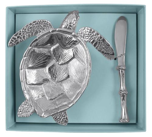 Sea Turtle Dish Set by Mariposa