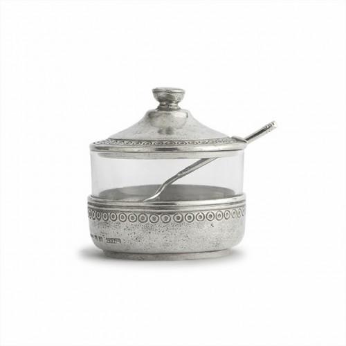 PRE-ORDER - Anna Caffe Sugar with Spoon - Arte Italica