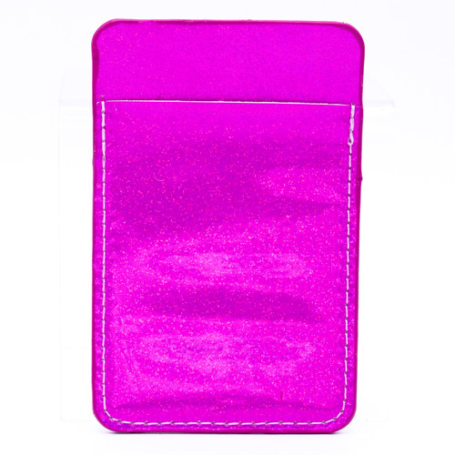 Pink Sparkle Metallic Phone Sleeve by Simply Southern