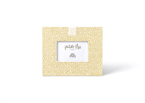 Gold Small Dot Mini Frame by Happy Everything! - Special Order