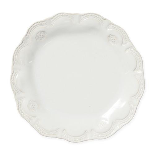 Vietri Incanto Stone Linen Lace Dinner Plate